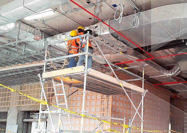 Protección de Aisladores Sísmicos, Ductos e Instalaciones Eléctricas